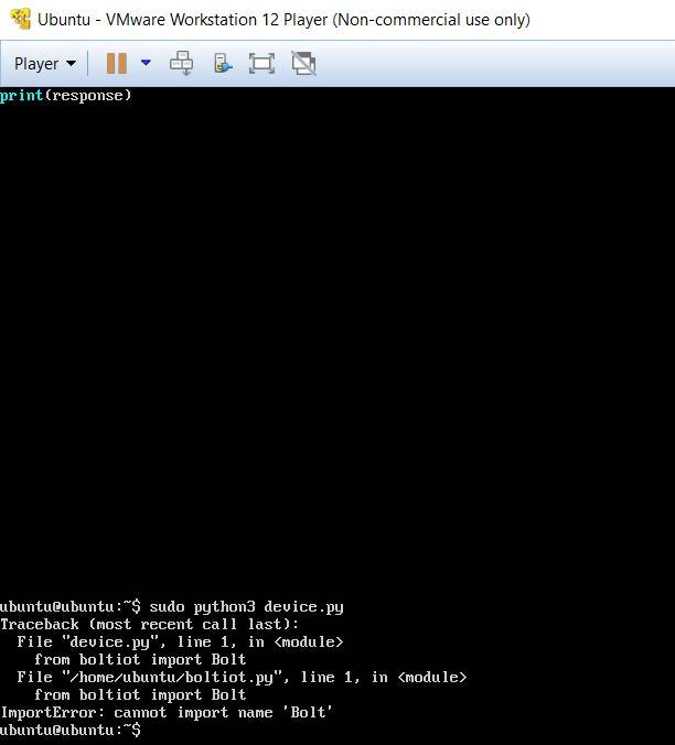 Image library python ubuntu
